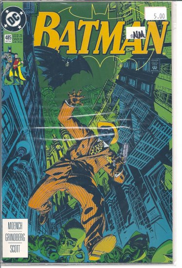 Batman # 485, 9.4 NM