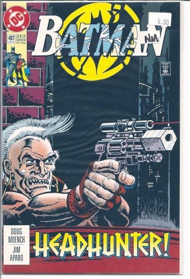 Batman # 487, 9.4 NM