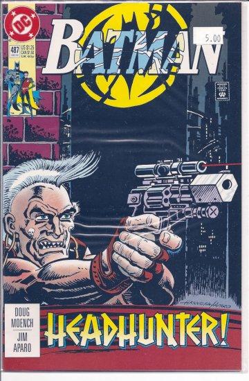 Batman # 487, 9.2 NM -