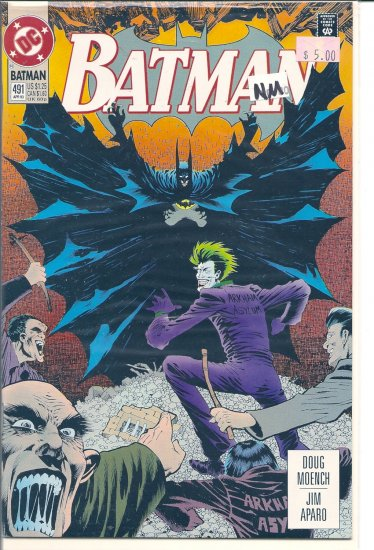 Batman # 491, 9.4 NM