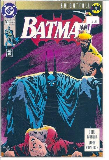 Batman # 493, 9.2 NM -