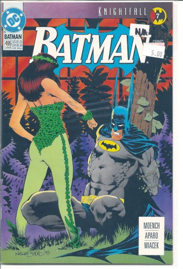 Batman # 495, 9.4 NM