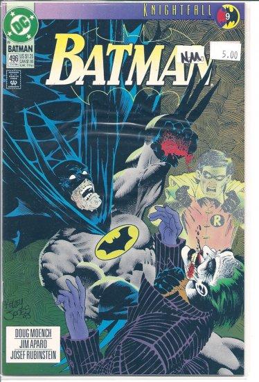 Batman # 496, 9.4 NM