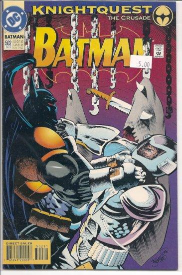 Batman # 502, 9.4 NM