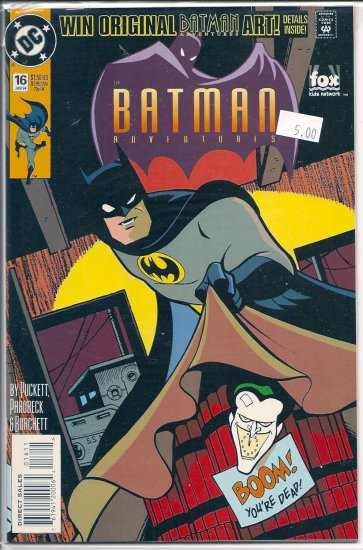 Batman Adventures # 16, 9.4 NM