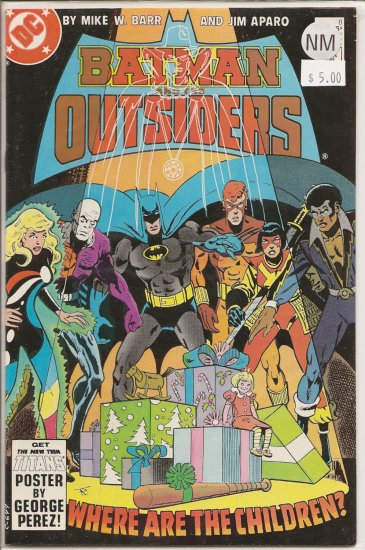 Batman and the Outsiders # 8, 9.4 NM