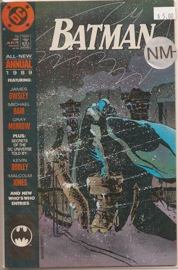 Batman Annual # 13, 9.4 NM