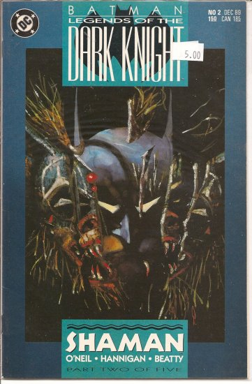Batman Legends of the Dark Knight # 2, 9.4 NM