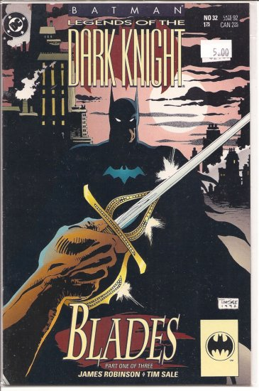 Batman Legends of the Dark Knight # 32, 9.2 NM -