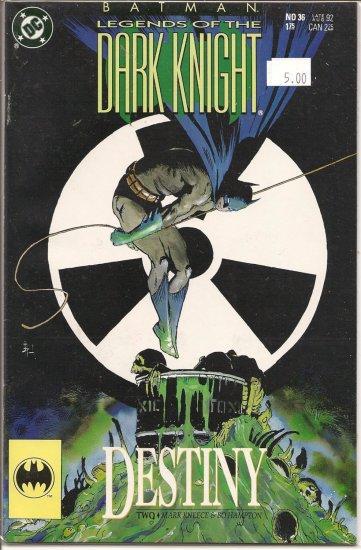 Batman Legends of the Dark Knight # 36, 9.2 NM -