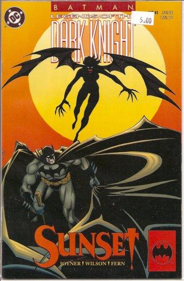 Batman Legends of the Dark Knight # 41, 9.4 NM