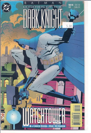 Batman Legends of the Dark Knight # 55, 9.4 NM