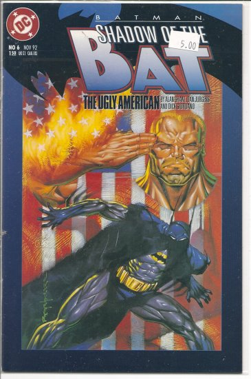 Batman Shadow of the Bat # 6, 9.4 NM