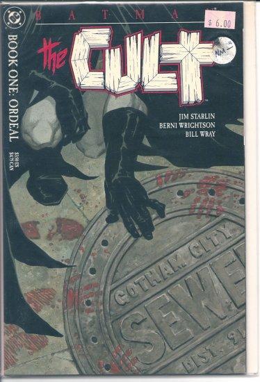 Batman The Cult # 1, 9.2 NM -