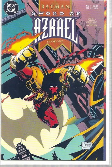 BATMAN: SWORD OF AZRAEL # 1, 9.4 NM