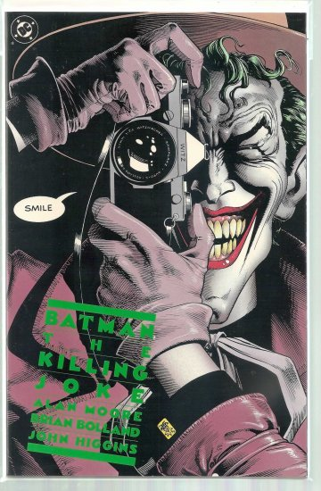 BATMAN:THE KILLING JOKE # 1, 9.2 NM -