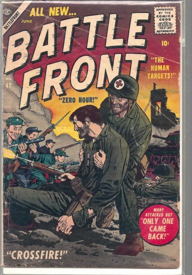BATTLEFRONT # 47, 2.5 GD +