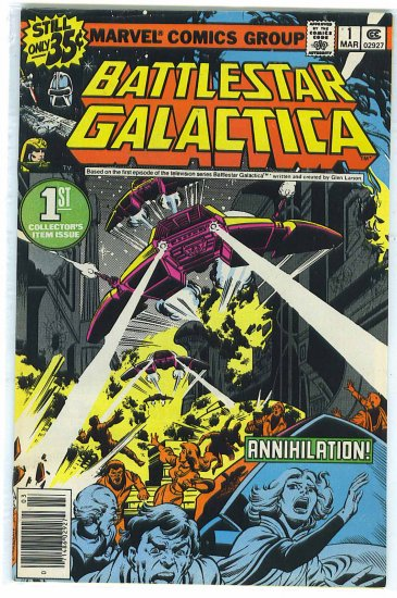 Battlestar Galactica # 1, 4.0 VG