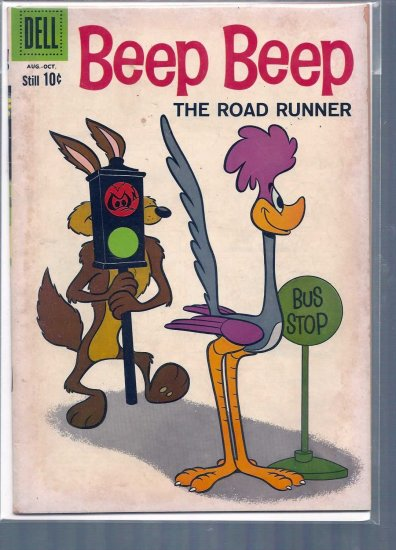 BEEP BEEP, THE ROAD RUNNER # 6, 4.5 VG +