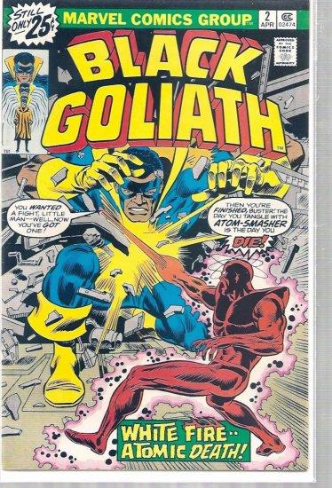 BLACK GOLIATH # 2, 4.5 VG +