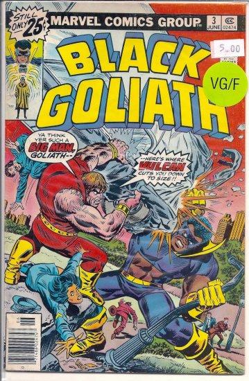 Black Goliath # 3, 5.0 VG/FN