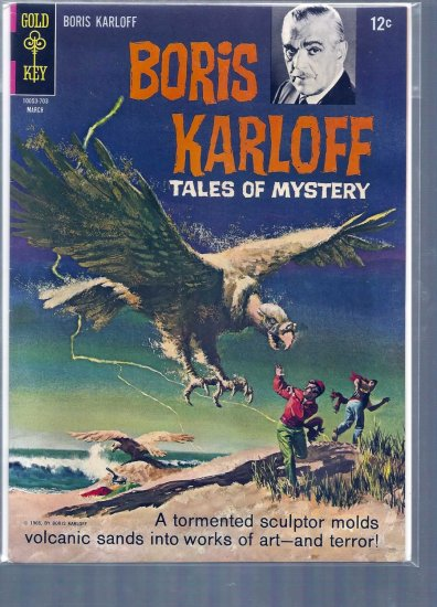 BORIS KARLOFF TALES OF MYSTERY # 17, 7.0 FN/VF