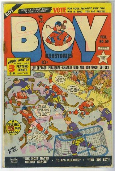 Boy Comics # 50, 3.0 GD/VG