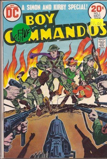 Boy Commandos # 1, 7.0 FN/VF