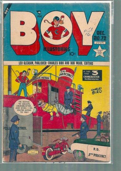 BOY ILLUSTORIES # 72, 2.0 GD