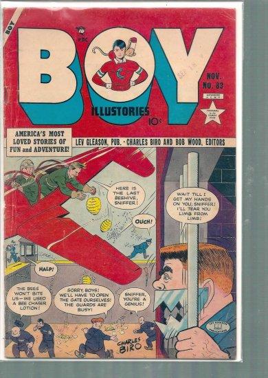 BOY ILLUSTORIES # 83, 3.5 VG -