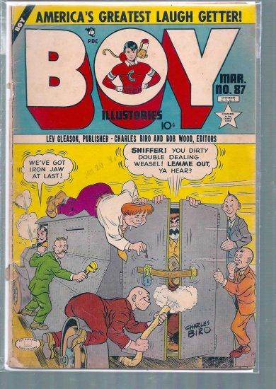 BOY ILLUSTORIES # 87, 1.8 GD -