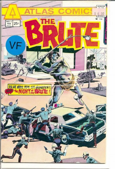 Brute, The # 1, 8.0 VF