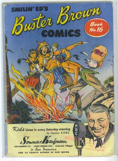 Buster Brown Comics # 16, 1.8 GD -