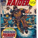Capt. Savage And His Leatherneck Raiders # 1, 4.5 VG +