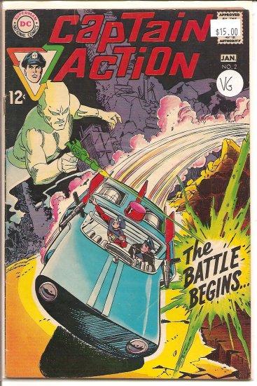 Captain Action # 2, 4.0 VG