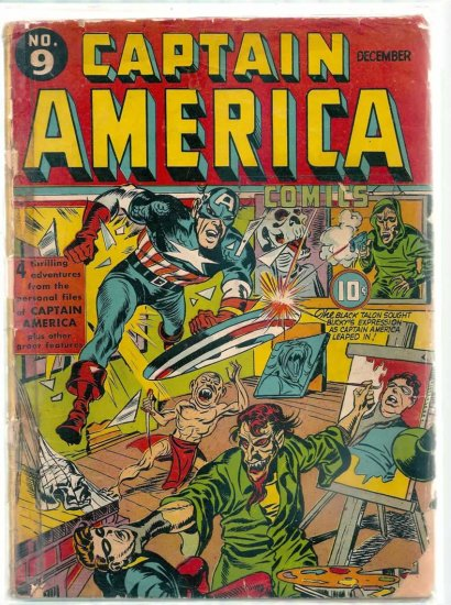 CAPTAIN AMERICA # 9, 1.0 FR