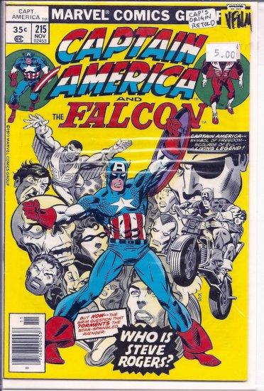 Captain America # 215, 9.0 VF/NM