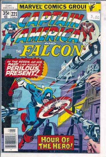 Captain America # 221, 8.0 VF