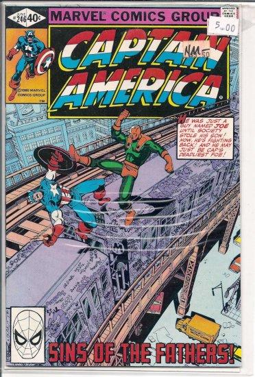 Captain America # 246, 9.2 NM -