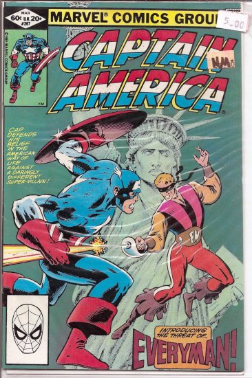 Captain America # 267, 9.2 NM -