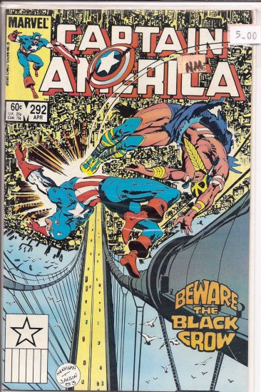 Captain America # 292, 9.2 NM -
