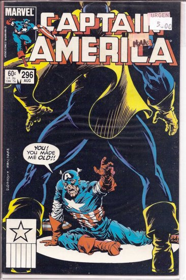 Captain America # 296, 9.4 NM