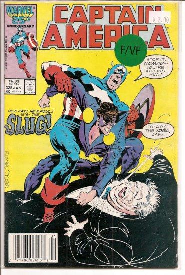 Captain America # 325, 7.0 FN/VF