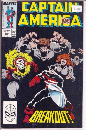 Captain America # 340, 9.4 NM