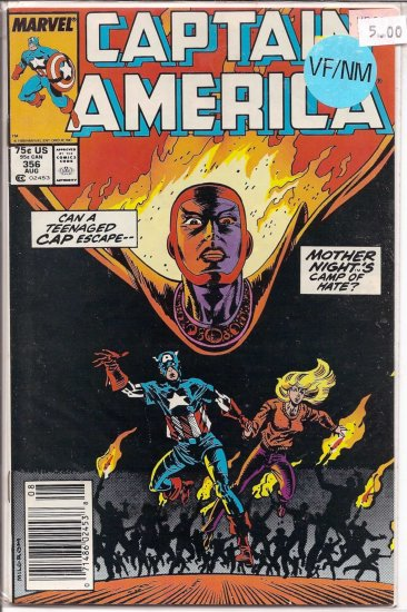 Captain America # 356, 9.0 VF/NM