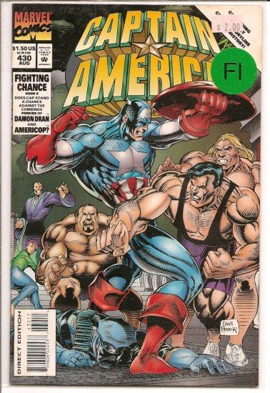 Captain America # 430, 6.0 FN
