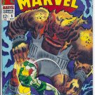 Captain Marvel # 6, 5.5 FN -