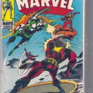 CAPTAIN MARVEL # 11, 4.0 VG