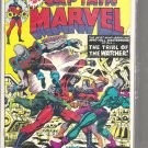 CAPTAIN MARVEL # 38, 4.5 VG +