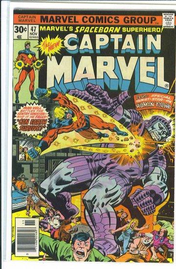 Captain Marvel # 47, 6.5 FN +